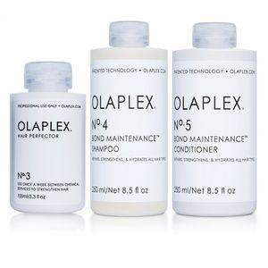 OLAPLEX NO. 3 4 & 5 SH. & COND. & BOND REPAIR HAIR
